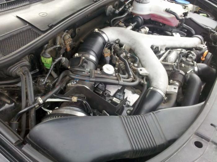 V-образный 6-цилиндровый двигатель Audi A4 Allroad.