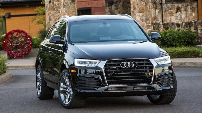 Слабые фары и отсутствие системы предупреждение о столкновении портит имидж Audi Q3.