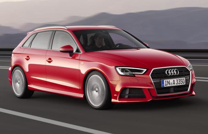 Спортивный хэтчбек Audi A3. | Фото: topgear.com.