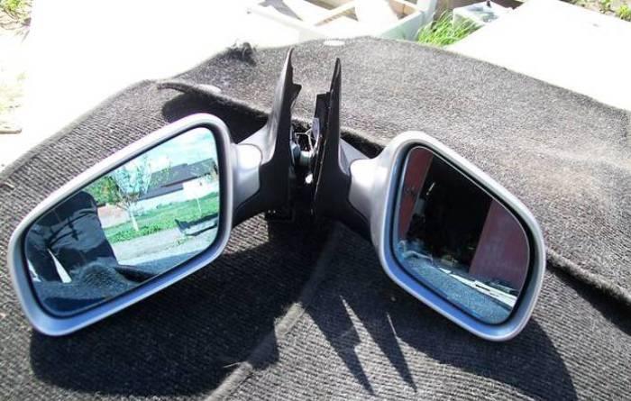 Комплект зеркал на немецкий седан бизнес-класса Audi А6. | Фото: ria.com.