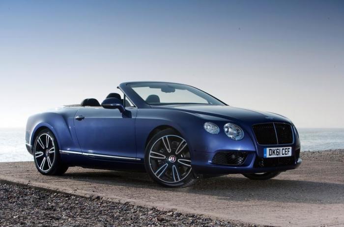 Роскошный британский кабриолет Bentley Continental GTC. | Фото: autocar.co.uk.