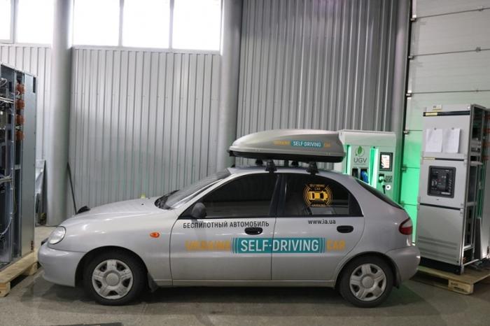 Daewoo Lanos оснащен аппаратурой для автономного передвижения. | Фото: dpchas.com.ua.