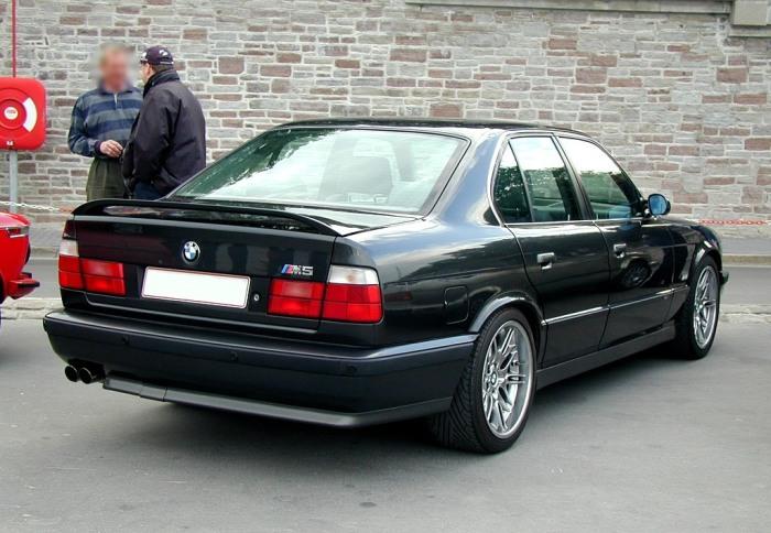 BMW 5 – продвинутая версия обычной «пятерки». | Фото: a2goos.com.