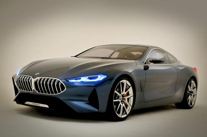 Новое поколение BMW 8 Series.