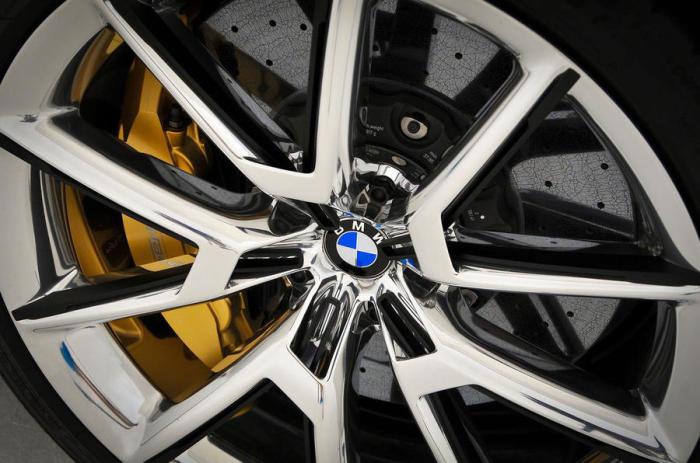 Уникальные колесные диски BMW 8 Series.