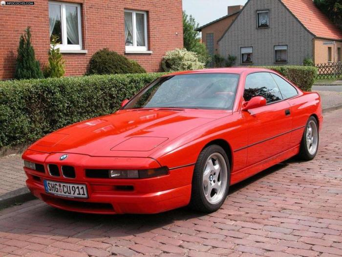 BMW 850CSi – автомобиль гран-туризмо, который почти как суперкар.