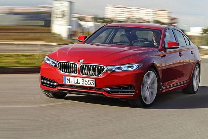 Новая внешность престижного компактного седана BMW 3 Series в кузове G20. | Фото: Фото: autocentre.ua.