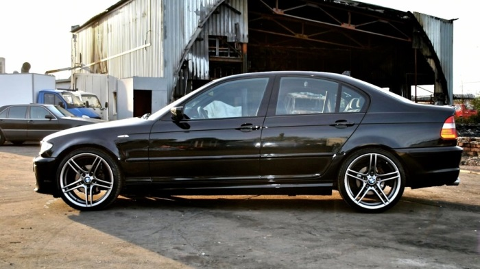 Баварская «тройка» BMW в кузове E46. | Фото: drive2.ru.