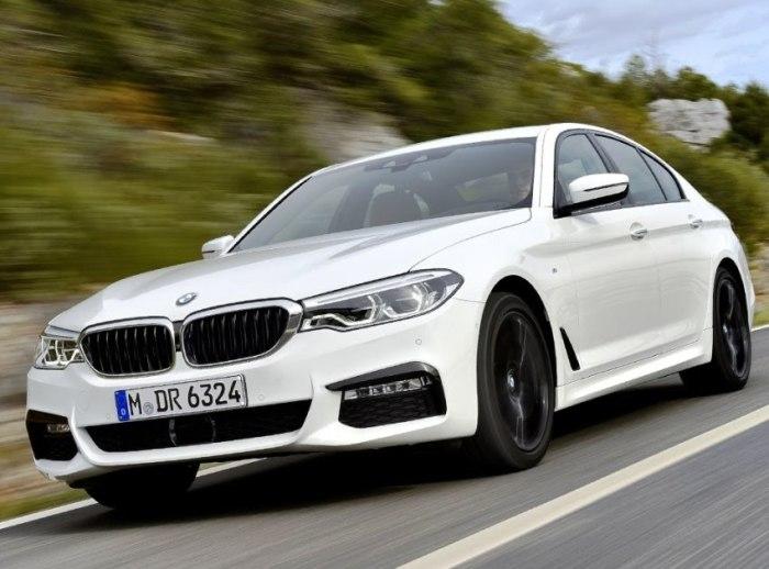 Знаменитый немецкий бизнес-седан BMW 5 Series в кузове G30. | Фото: youtube.com.