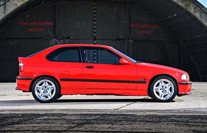 Более компактная версия BMW М3 Е36. | Фото: autowp.ru.