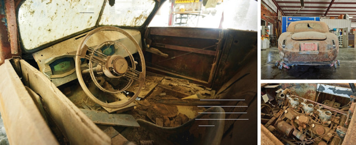 Состояние автомобиля именно такое, какое ожидаешь от автомобиля, полвека простоявшего в сарае. | Фото: drive2.ru.
