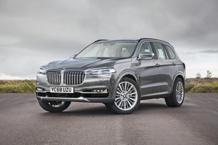 Так будет выглядеть самый большой внедорожник, серийно выпускаемый BMW. | Фото: autocentre.ua.