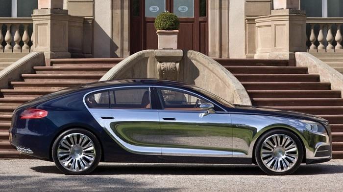 Роскошный автомобиль люкс-класса Bugatti 16C Galiber.