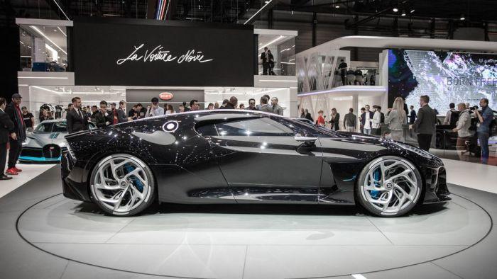 Bugatti La Voiture Noire – самый дорогой автомобиль в мире. | Фото: cnet.com.