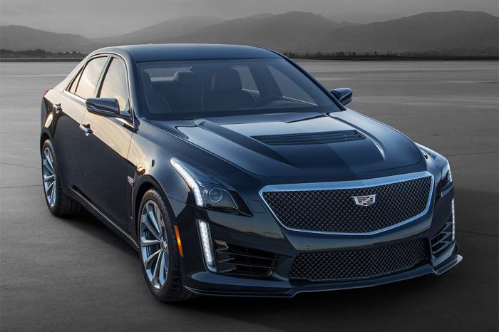 Cadillac CTS-V создан, чтобы конкурировать с Audi S6, BMW M5 и Mercedes AMG.