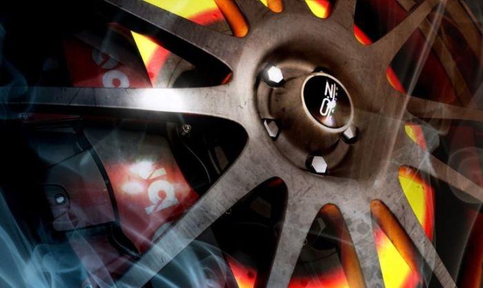 Перегретые дисковые тормоза. | Фото: veddro.com.