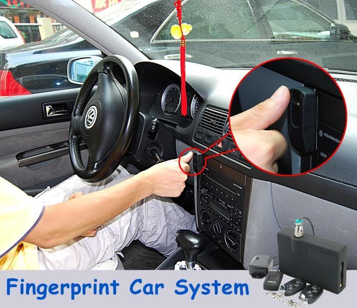 Система сканирования отпечатков пальцев.