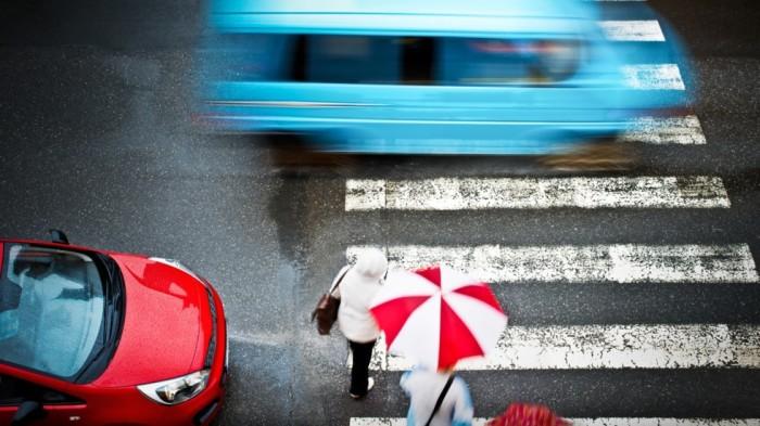 Пешеходный переход, также известный как «зебра». | Фото: лига-закон.рф.