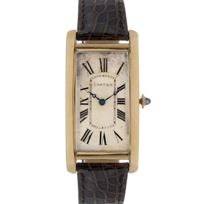 Наручные часы Cartier Tank, на внешний вид которых оказал влияние… танк.