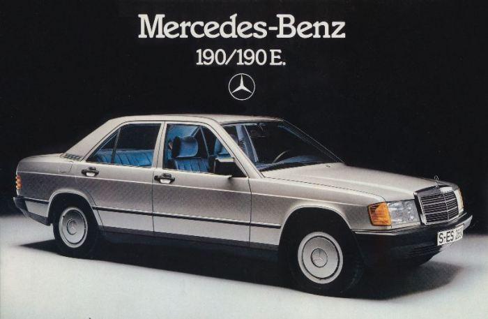 Модель 190 (W201) - самый маленький Mercedes-Benz 1980-х годов. | Фото: topruscar.ru.