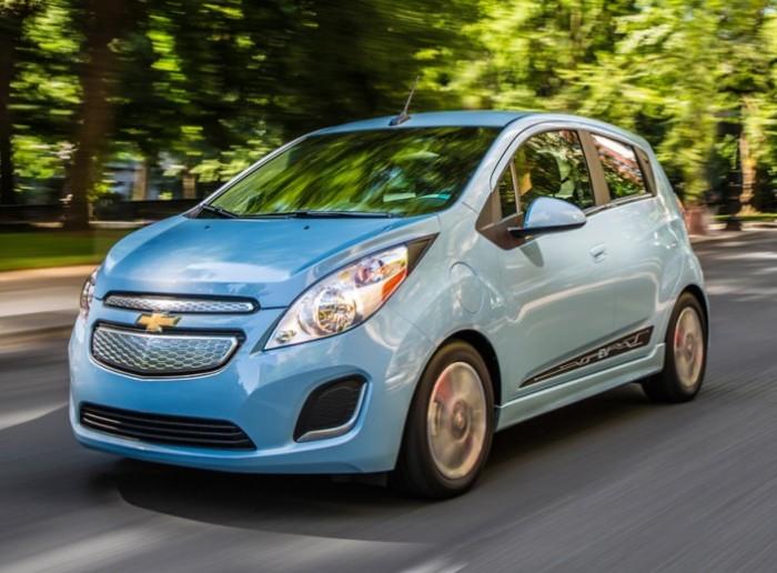 Chevrolet Spark EV - электрокар для города.