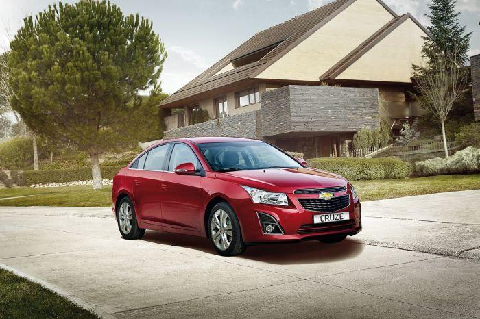 Chevrolet Cruze – автомобиль, который выпускали в Санкт-Петербурге и Калининграде.