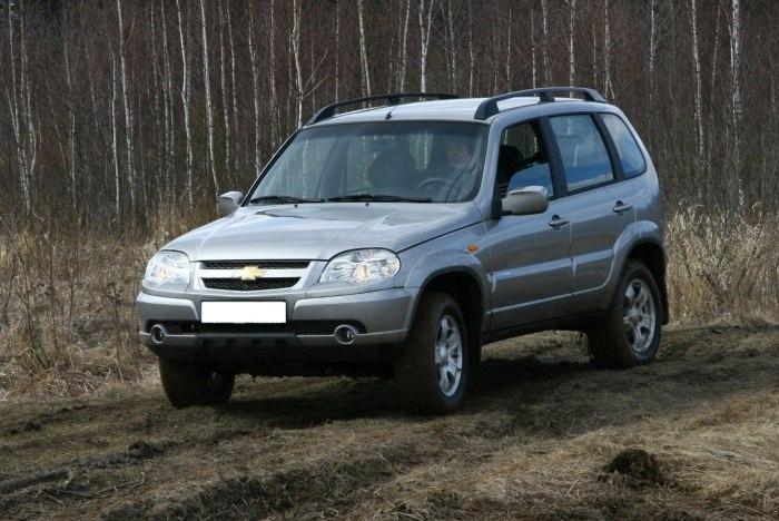 Chevrolet Niva - популярный внедорожник из Тольятти. | Фото: chevrolet-niva.infocar.ua.
