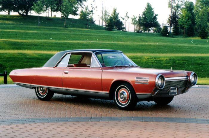 Автомобиль Chrysler с газотурбинным двигателем. | Фото: autocar.co.uk.