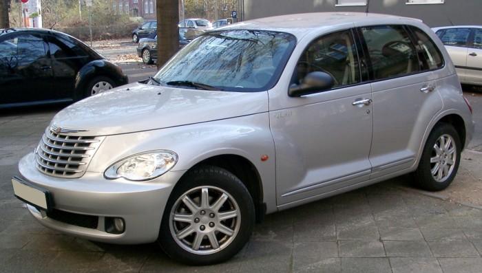 Хэтчбек Chrysler PT Cruiser – автомобиль, в котором сломается всё.