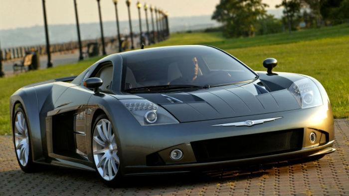 Американский суперкар Chrysler ME Four-Twelve.