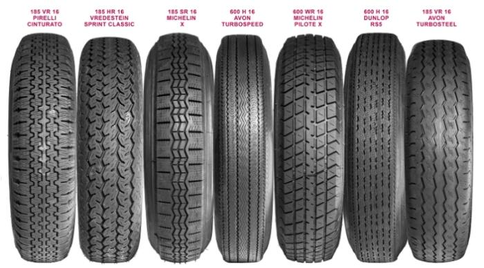 На автомобиль можно поставить шины разной комбинации ширина/высота.