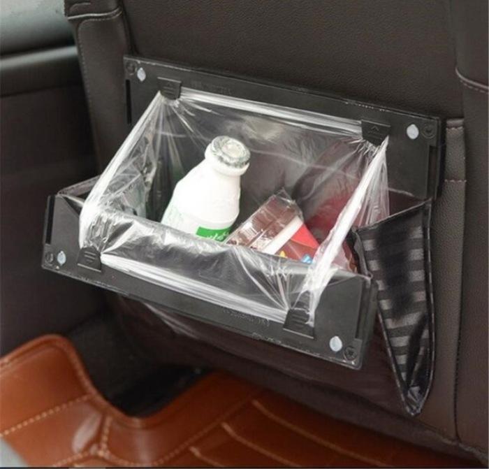 Мусорная корзина со сменяемым пакетом. | Фото: aliexpress.com.