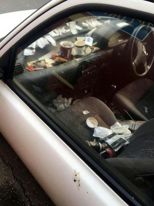 Сложно поверить, но этот автомобиль использовался для… доставки пиццы. | Фото: fishki.net.