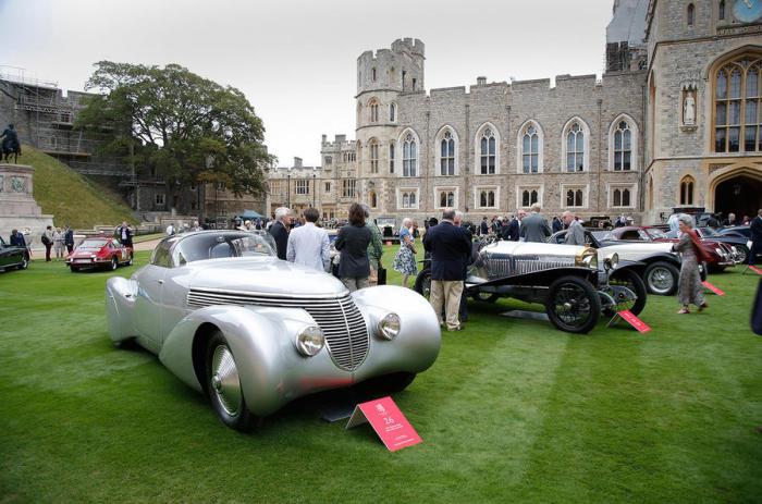 Уникальнейшая выставка классических автомобилей последних лет.