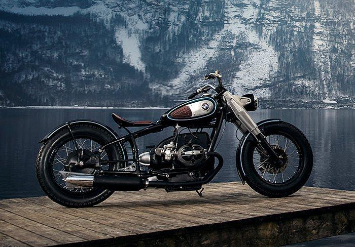 В прошлой жизни это был обыкновенный мотоцикл BMW.   Фото: beautifullife.info.