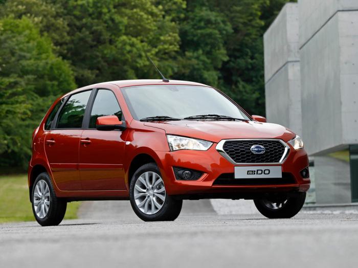 Компактный хэтчбек Datsun mi-DO построен на платформе «Калины». | Фото: autonews.autoua.net.