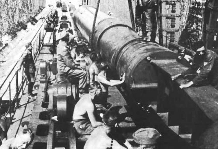 Ствол немецкого орудия калибра 80 сантиметров. | Фото: xdigest.ru.