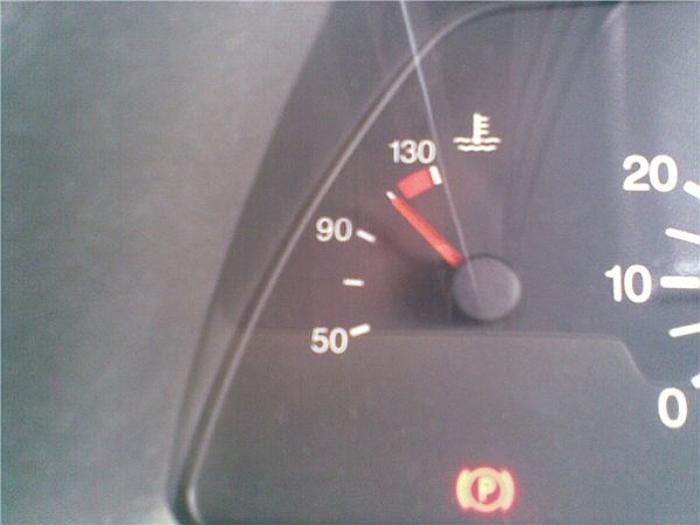 Температура уже превышает рекомендованные заводом 85-95 градусов по Цельсию. | Фото: proevgen.ucoz.ru.