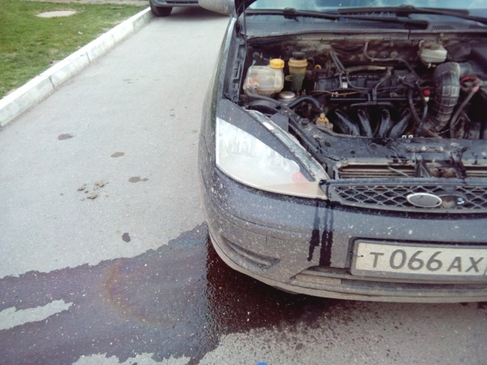 Потеки охлаждающей жидкости. | Фото: drive2.ru.