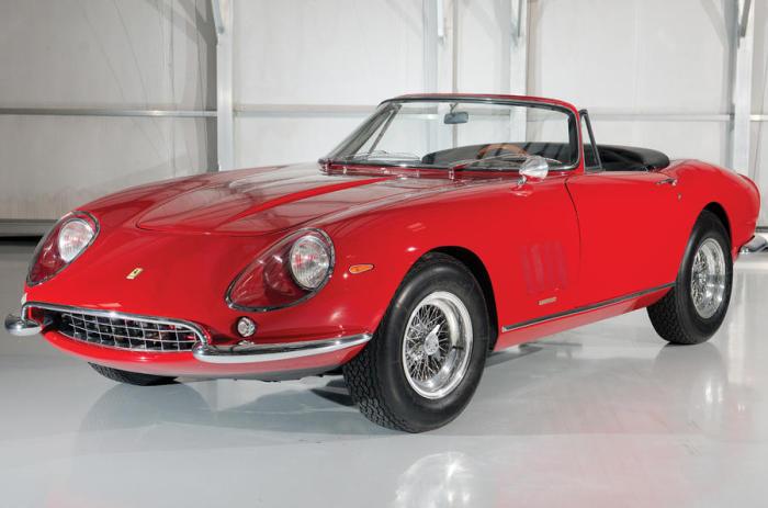 Ferrari 275 GTB/4 S NART Spider Стива МакКуина. | Фото: autocar.co.uk.