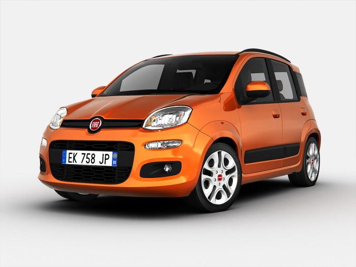 Fiat Panda - крошка с большими проблемами.