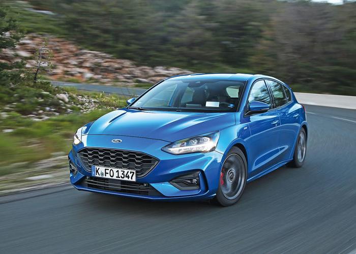 Новый хэтчбек Ford Focus четвертого поколения. | Фото: autocar.co.uk.