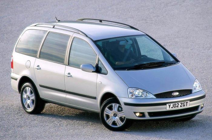 Ford Galaxy - минивэн второго поколения.