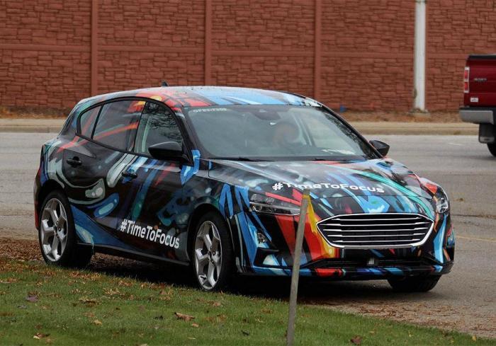 Новый Ford Focus попал в объективы автомобильных журналистов. | Фото: autocentre.ua.