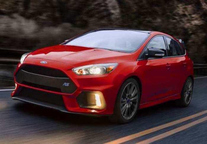 Так будет выглядеть версия RS популярнейшего хэтчбека Ford Focus четвертого поколение. | Фото: ford.com.