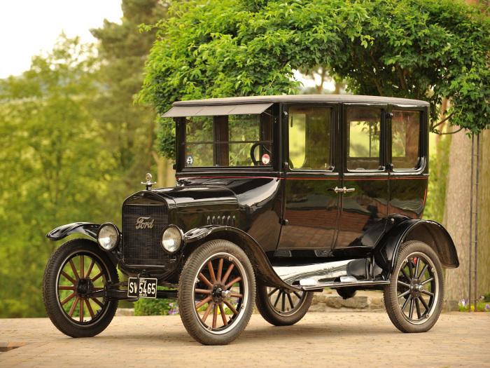 Ford Model T в классическом черном цвете. | Фото: yandex.ru.
