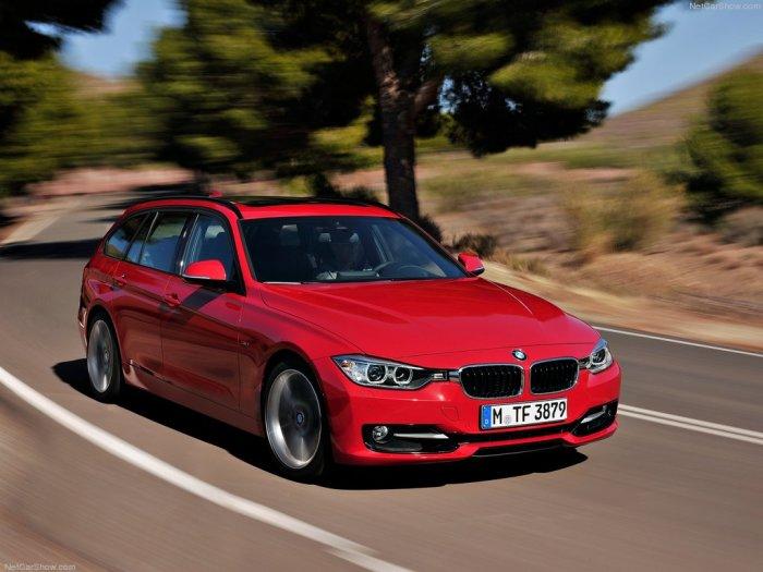 Универсал BMW F31 Touring, созданный на базе седана 3-серии.