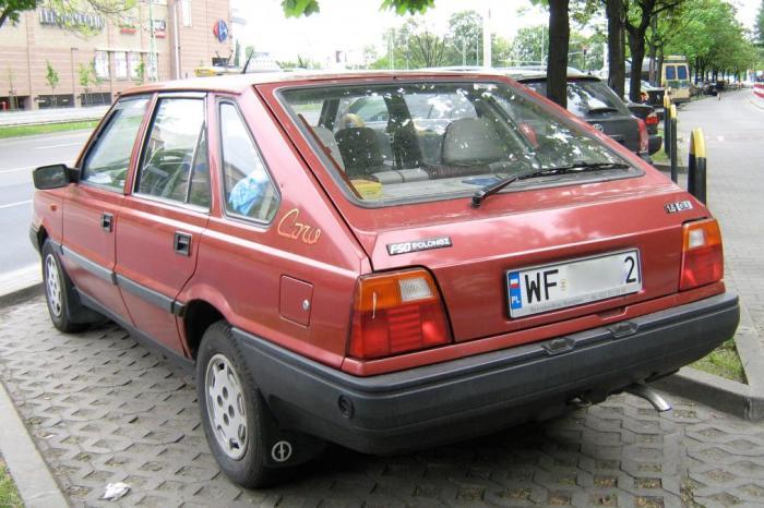 FSO Polonez, построенный на базе Fiat 1967 года.