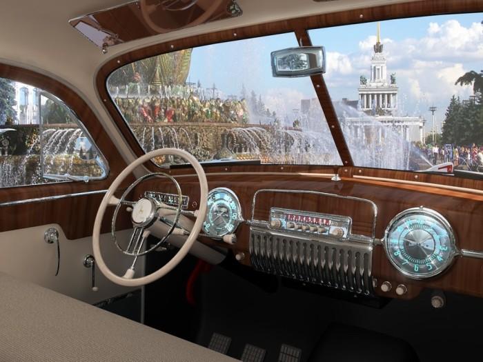 Передачи в ГАЗ-12 ЗИМ переключались подрулевым рычагом. | Фото: автогурман.com.