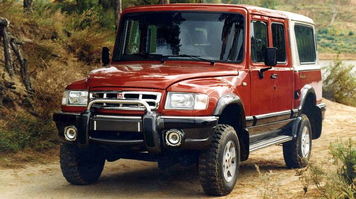 Пикап ГАЗ-230812 «Атаман» с четырехместной кабиной.